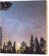 Star Light Star Bright Wood Print