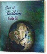 Star Of Bethlehem Wood Print