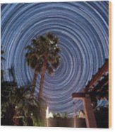Star Party Wood Print