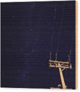 Star Power Wood Print