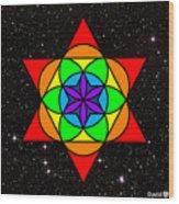 Star Seed Wood Print