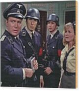 Star Trek Patterns Of Force Episode Publicity Photo Number Two 1968 Wood Print
