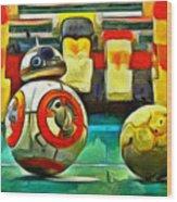 Star Wars Brothers - Pa Wood Print