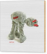 Star Wars Combat Crochet Armoured Vehicle Wood Print