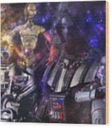 Star Wars Compilation Wood Print