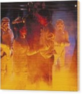 Star Wars Episode V The Empire Strikes Back Wood Print
