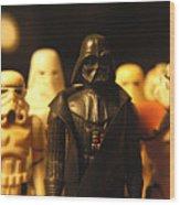 Star Wars Gang 3 Wood Print