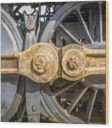 Starboard Drive Wheels And Connecting Rods No. 9000 Wood Print