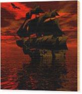 Starboard Tack Wood Print