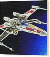 Starfighter X-wings - Da Wood Print