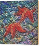 Starfish 2 Wood Print