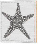 Starfish Wood Print by Stephanie Troxell