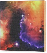 Stargazer - 01  Wood Print