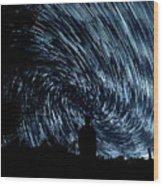 Starlights Wood Print