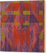 Starman Wood Print by Shahid Muqaddim