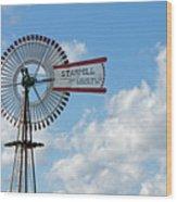 Starmill Wood Print