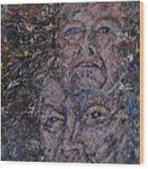 starr man David Bowie Wood Print