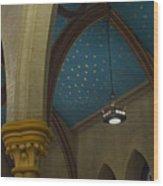Starry Ceiling Wood Print