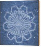 Starry Kaleidoscope Wood Print