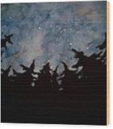Starry Sky Wood Print