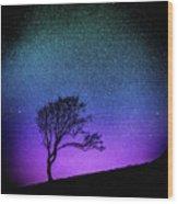 Starry Starry Night Wood Print