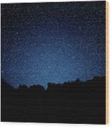 Stars Above Wood Print