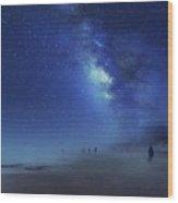 Stars In The Sky Wood Print