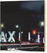 Stars Over Lax Wood Print