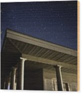 Stars Over The Pavilion Wood Print
