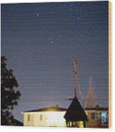 Stars1 Wood Print