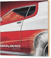 Starsky And Hutch Wood Print