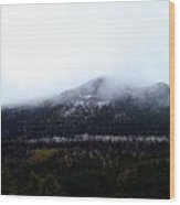 Start Of The Rockies Wood Print