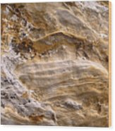 Starvedrocksandstonepatterns Wood Print