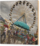 State Fair Of Oklahoma II Wood Print