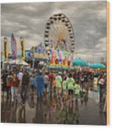 State Fair Of Oklahoma Wood Print