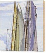 Stately Mariners Wood Print