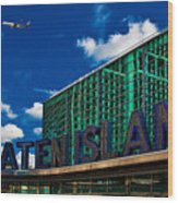 Staten Island Ferry Terminal Wood Print