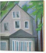 Staten Island House Wood Print
