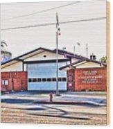 Station 127 Wood Print
