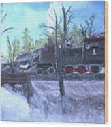 Station 51 Wood Print