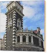 Station Tower Wood Print