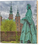 Statue At Rosenborg Castle Wood Print