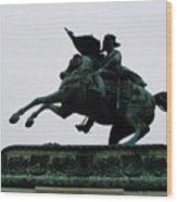 Statue Of Archduke Charles, Heldenplatz, Vienna Wood Print