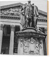 Statue Of King Edward Vii Wood Print