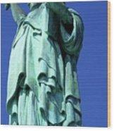 Statue Of Liberty 10 Wood Print