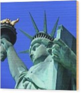 Statue Of Liberty 11 Wood Print