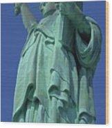 Statue Of Liberty 12 Wood Print