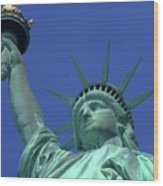 Statue Of Liberty 15 Wood Print