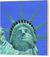 Statue Of Liberty 19 Wood Print