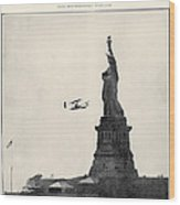 Statue Of Liberty, 1909 Wood Print